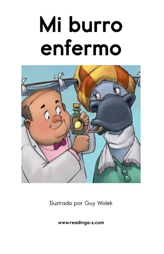 Book Preview For Mi burro enfermo Page 2