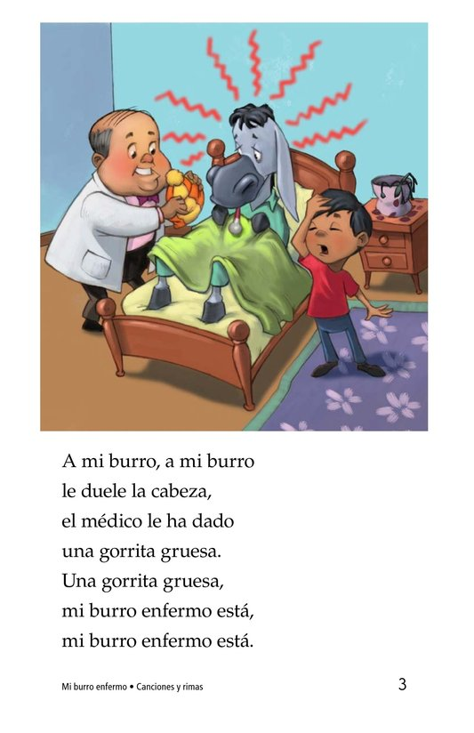 Book Preview For Mi burro enfermo Page 3