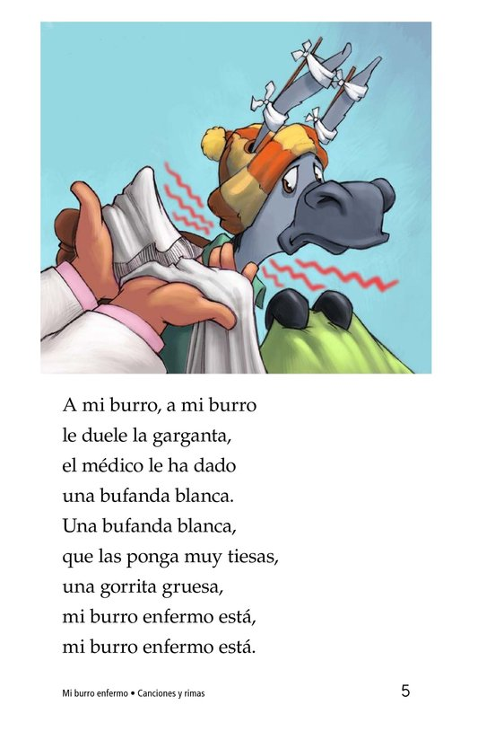 Book Preview For Mi burro enfermo Page 5