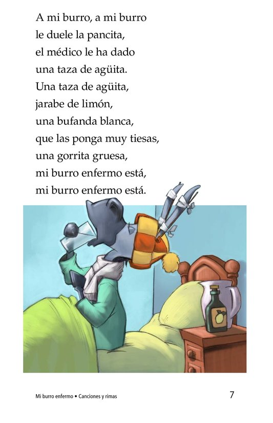 Book Preview For Mi burro enfermo Page 7