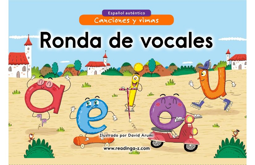 Book Preview For Ronda de vocales Page 1