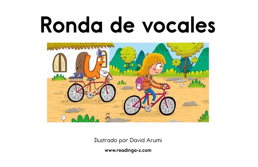 Book Preview For Ronda de vocales Page 2