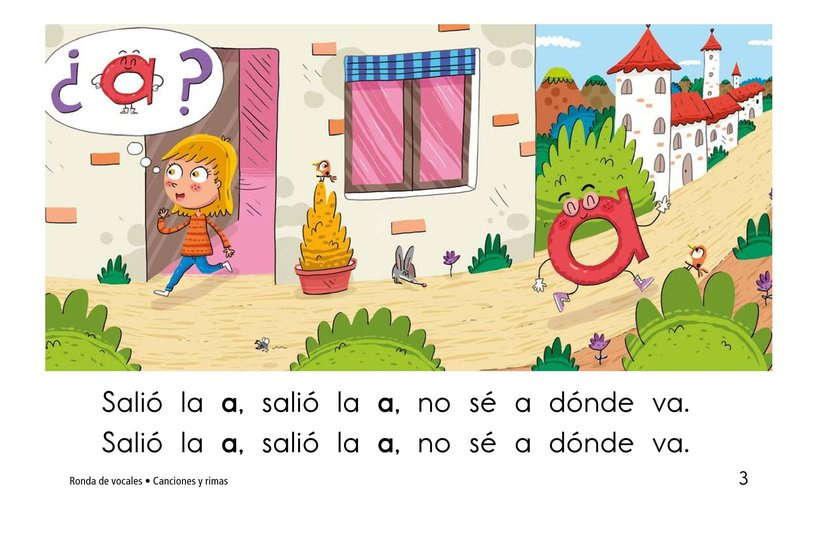 Book Preview For Ronda de vocales Page 3