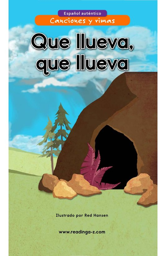 Book Preview For Que llueva, que llueva Page 1