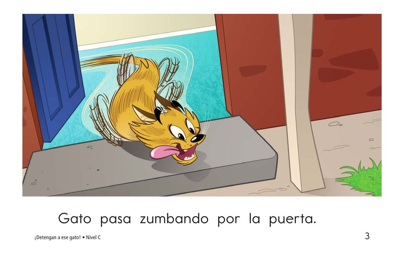 Book Preview For Stop That Cat! Page 3