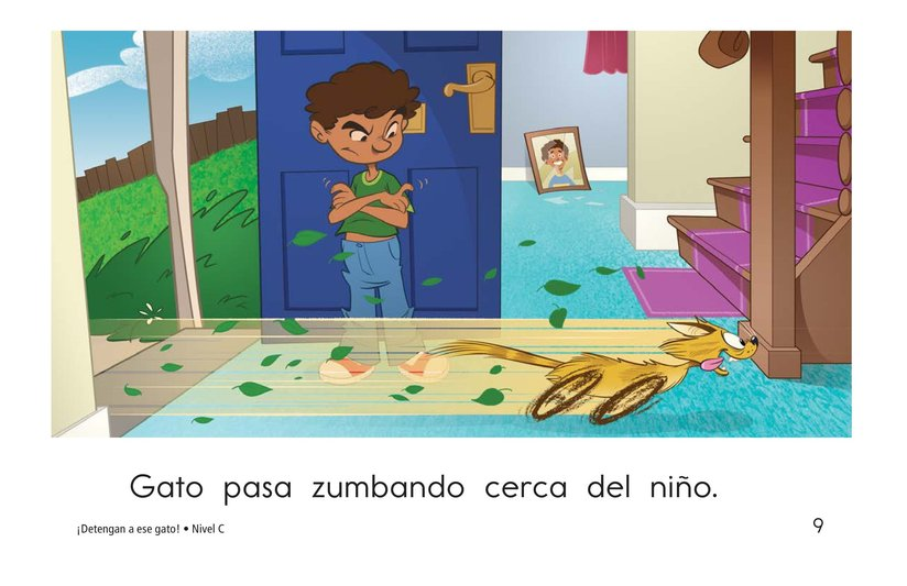 Book Preview For Stop That Cat! Page 9