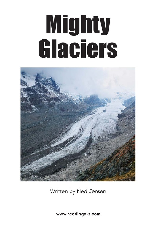 Book Preview For Mighty Glaciers Page 2