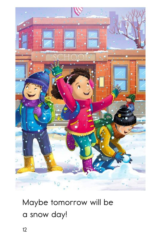 Book Preview For I Need a Snow Day! Page 12