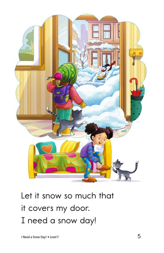 Book Preview For I Need a Snow Day! Page 5