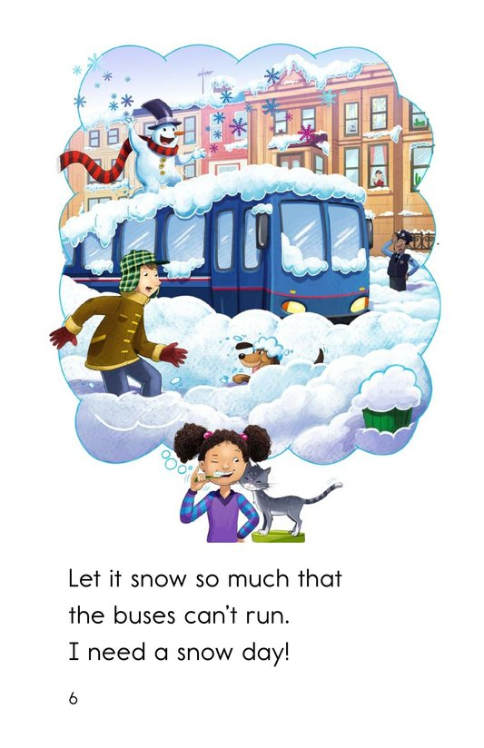 Book Preview For I Need a Snow Day! Page 6