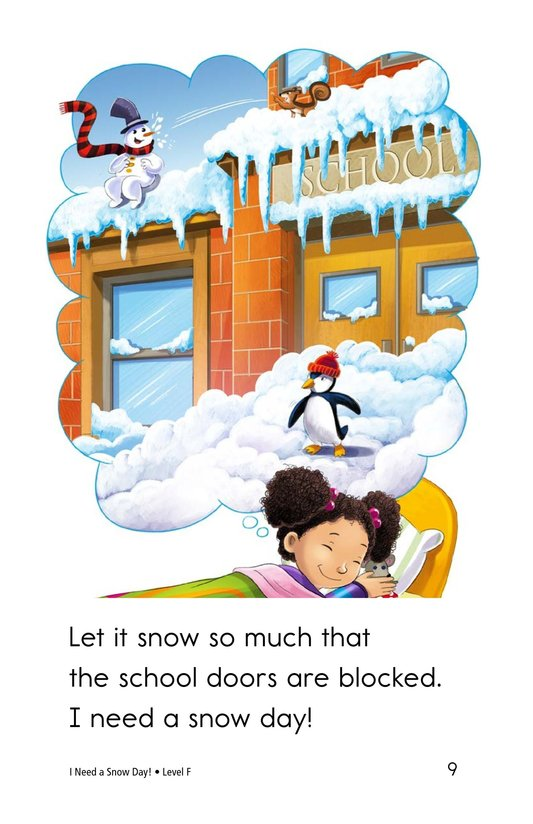 Book Preview For I Need a Snow Day! Page 9