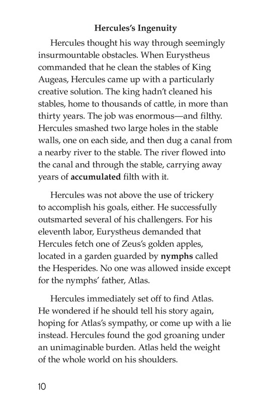 Book Preview For The Labors of Hercules Page 10