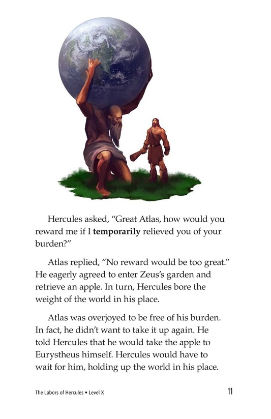 Book Preview For The Labors of Hercules Page 11