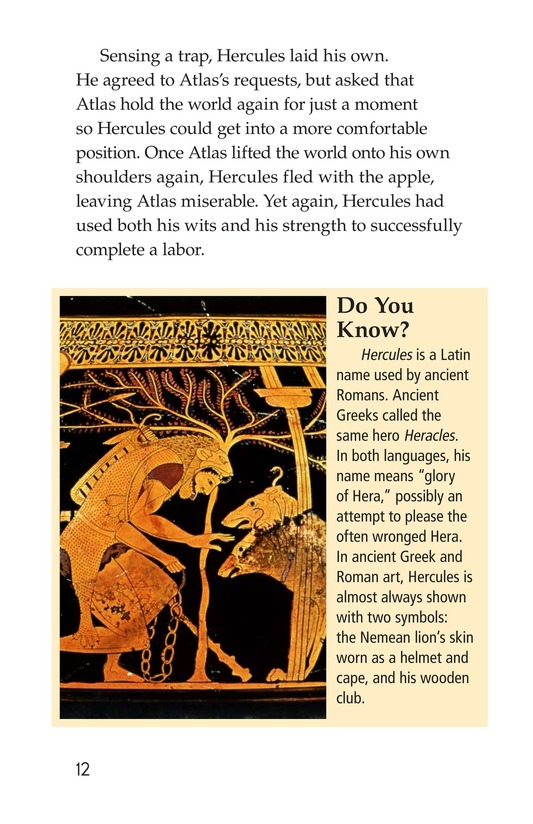 Book Preview For The Labors of Hercules Page 12