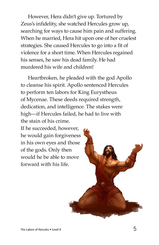 Book Preview For The Labors of Hercules Page 5