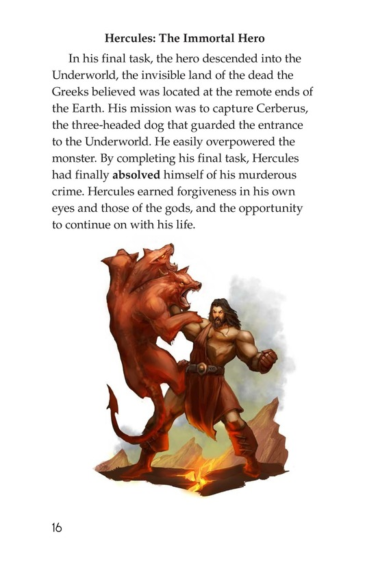 Book Preview For The Labors of Hercules Page 16