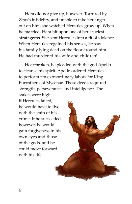 Book Preview For The Labors of Hercules Page 6