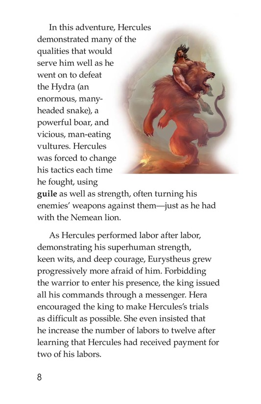 Book Preview For The Labors of Hercules Page 8