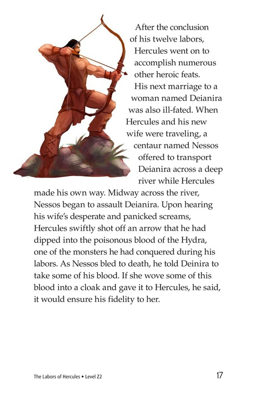 Book Preview For The Labors of Hercules Page 17