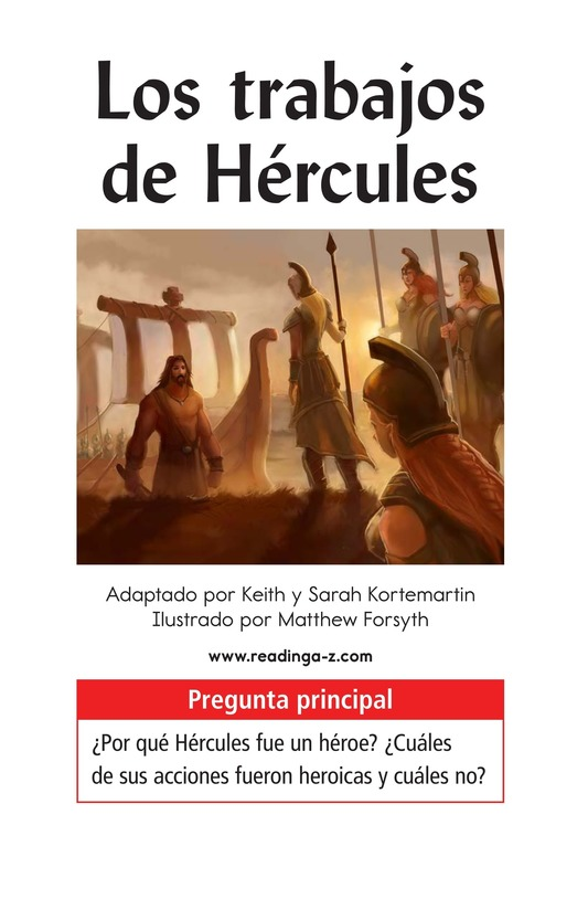 Book Preview For The Labors of Hercules Page 1