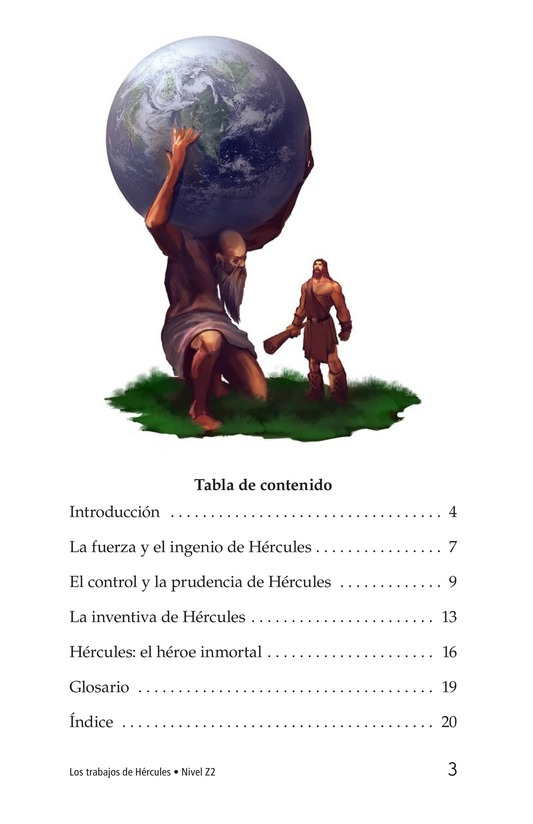 Book Preview For The Labors of Hercules Page 3