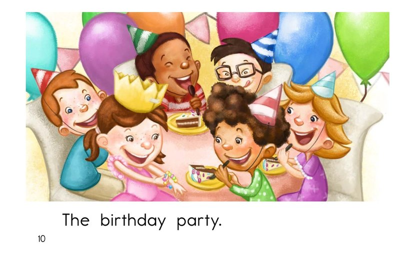 Book Preview For The Birthday Party Page 10