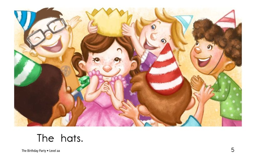 Book Preview For The Birthday Party Page 5