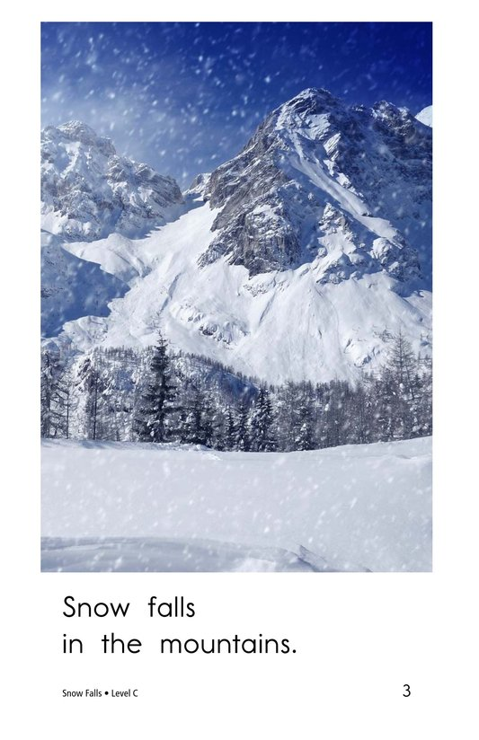 Book Preview For Snow Falls Page 3