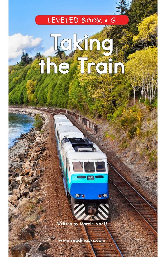Book Preview For Taking the Train Page 0