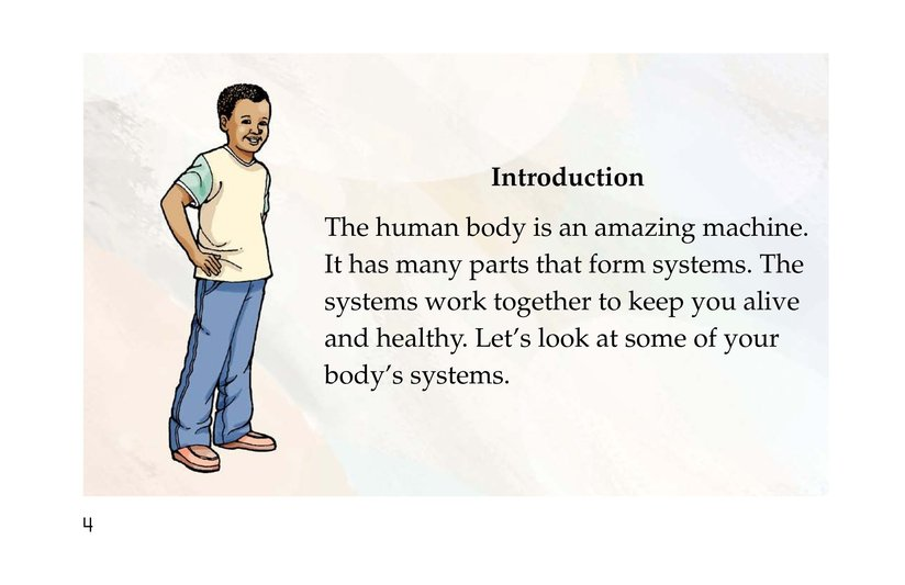 Book Preview For Inside Your Body Page 4