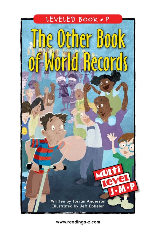 Book Preview For The Other Book of World Records Page 0