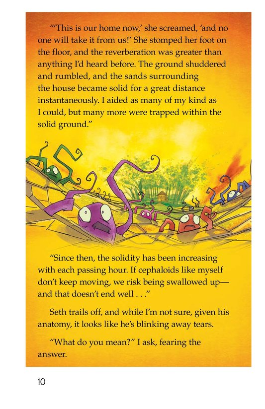 Book Preview For The Creature and the Queen Page 10