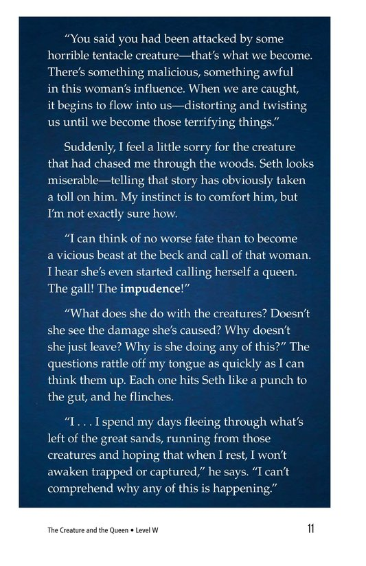 Book Preview For The Creature and the Queen Page 11