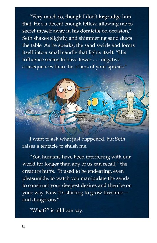 Book Preview For The Creature and the Queen Page 4