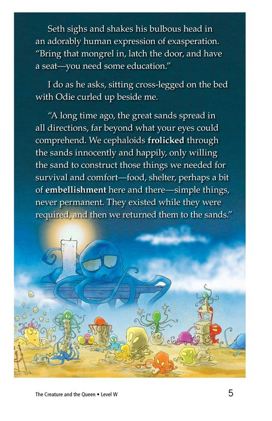 Book Preview For The Creature and the Queen Page 5
