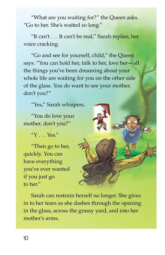 Book Preview For The Other Side of the Glass Page 10