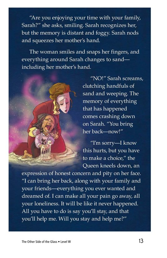 Book Preview For The Other Side of the Glass Page 13