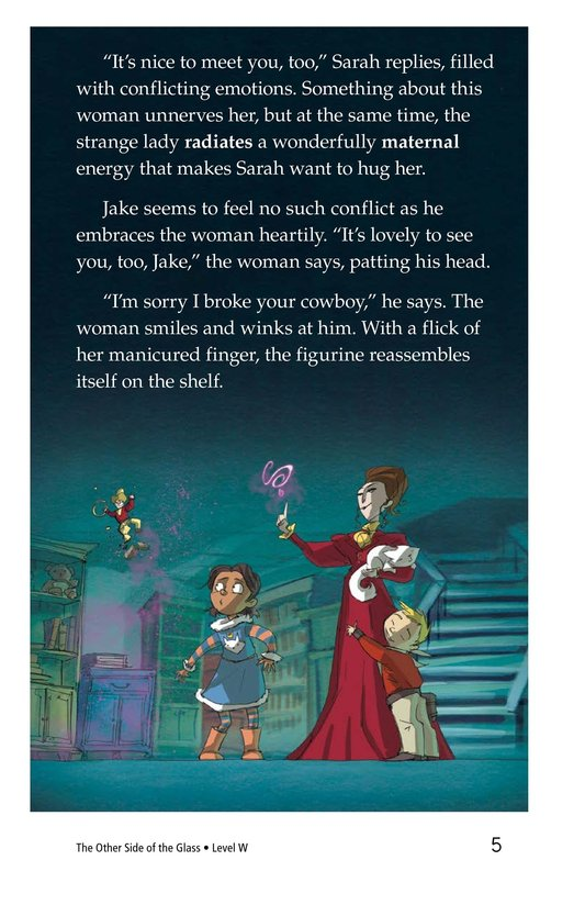 Book Preview For The Other Side of the Glass Page 5