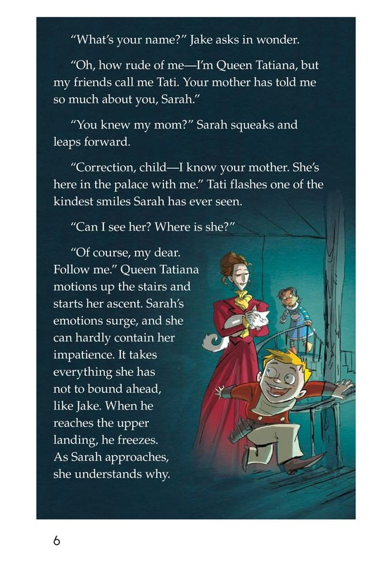 Book Preview For The Other Side of the Glass Page 6