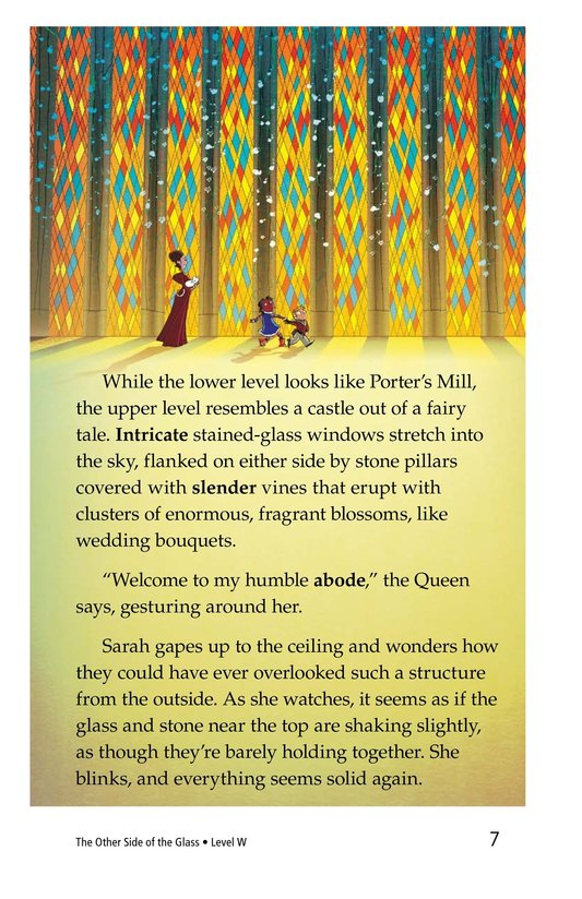 Book Preview For The Other Side of the Glass Page 7