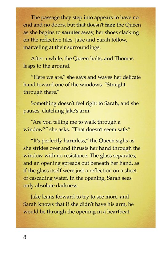Book Preview For The Other Side of the Glass Page 8