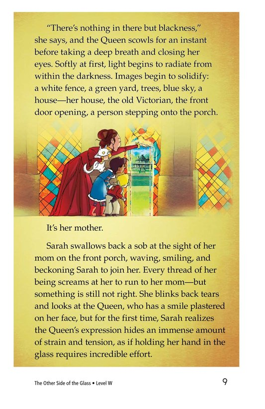 Book Preview For The Other Side of the Glass Page 9