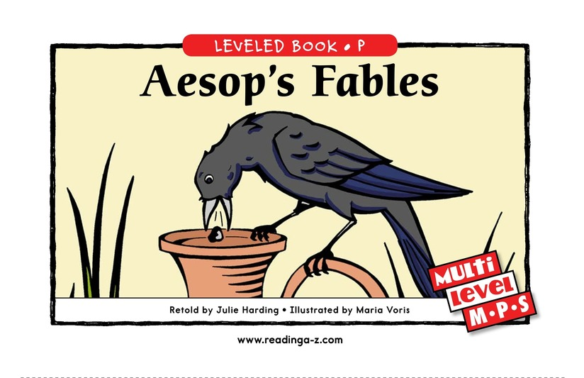 Book Preview For Aesop's Fables Page 0