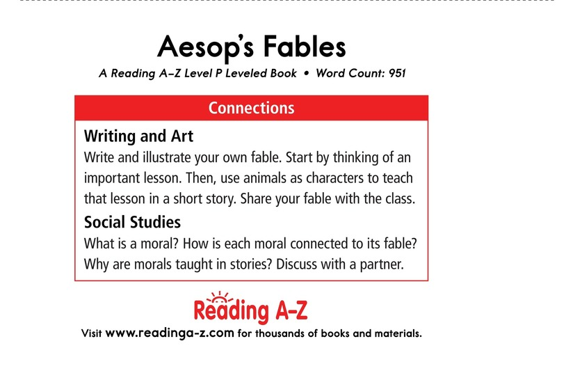 Book Preview For Aesop's Fables Page 17