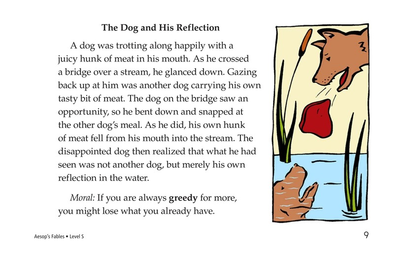 Book Preview For Aesop's Fables Page 9