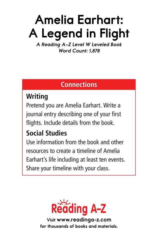 Book Preview For Amelia Earhart: A Legend in Flight Page 23