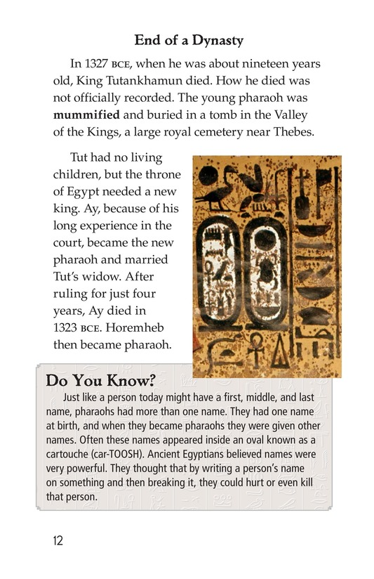 Book Preview For The Mystery of King Tut Page 12