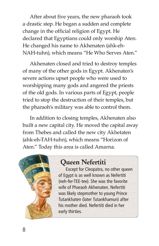 Book Preview For The Mystery of King Tut Page 8