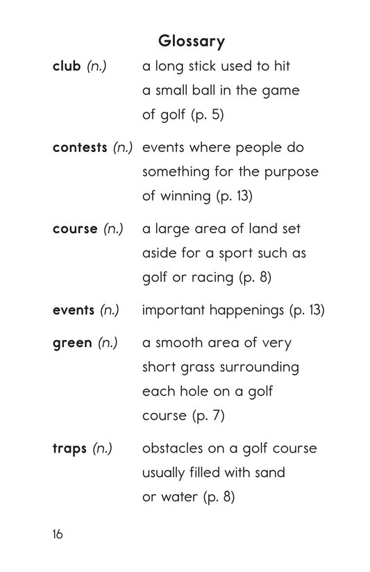 Book Preview For Golf Page 16