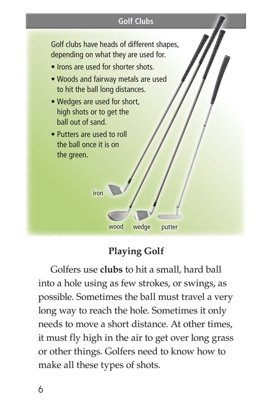 Book Preview For Golf Page 6
